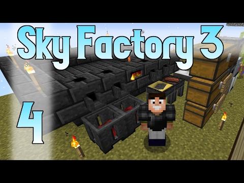 Minecraft SkyFactory 3 - Ep. 4 - Easy Smeltery
