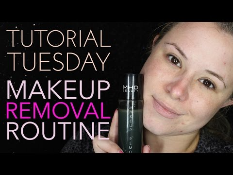 Tutorial Tuesday - Madison's Makeup Removal Routine