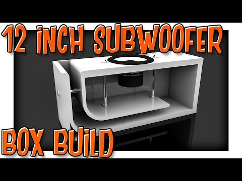 12 Inch Subwoofer Box Build Part 1 | Decisions and Building