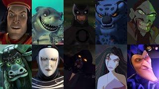 Defeats Of My Favorite Animated Non Disney Movie Villains