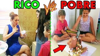 RICO VS POBRE - MÃES E FILHOS [Mãe de Rico X Mãe de Pobre] BELA BAGUNÇA