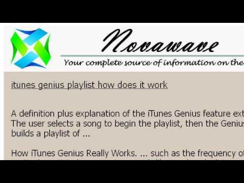 My Itunes Genius Doesn't Work With Kaspersky