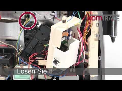 Miele CM5xxx (bis CM5200) Drainageventil ausbauen-ersetzen-tauschen-einbauen Reparaturanleitung