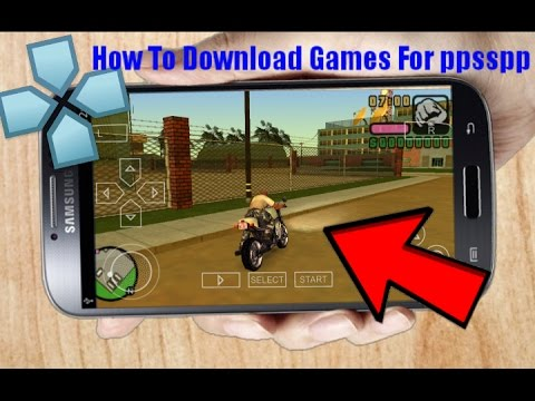 How To Download Games In PPSSPP Emulator [PSP]  2018