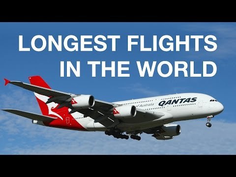 London to Australia: the Longest Flights in the World