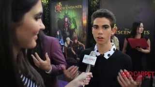 Cameron Boyce Carlos De Vil At The Premiere Of Disney Channel S Desce