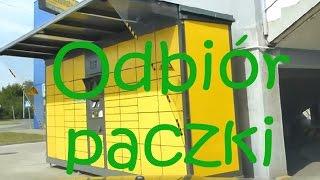 Odbiór paczki z paczkomatu Inpost 24/7 - od maila do paczki