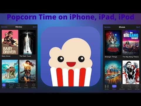 How To Get Popcorn Time on an iPhone, iPad, iPod Touch ( iOS 11 ) No JB No Computer !