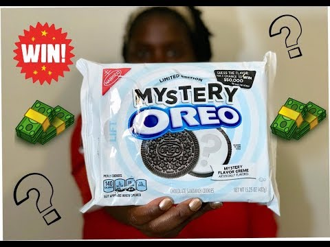 New Mystery Oreo Flavor | How to Win $50k!!!!