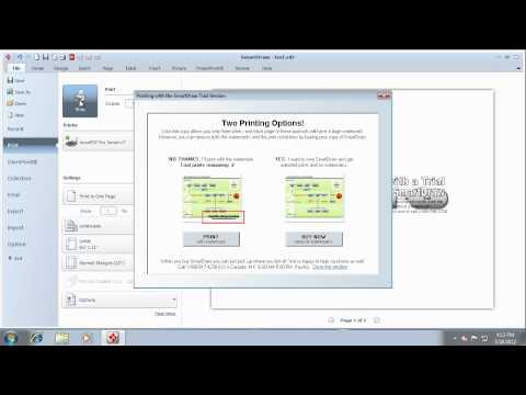 Convert Smartdraw to PDF