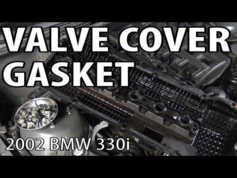BMW 330i 325i E46 Valve Cover Gasket Replacement - playithub com