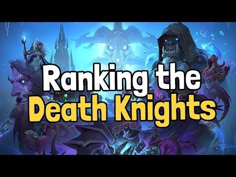 Ranking the Death Knight Hero Cards - Hearthstone