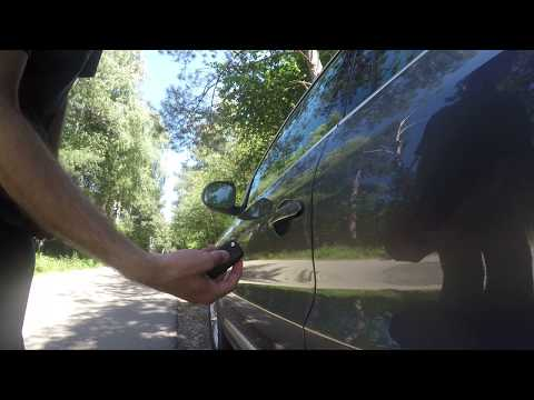 How to lock/unlock keyless entry car without remote - Demonstration