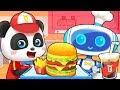 Robot Hamburger House Colors Song Learn Colors Food Song Kids Songs Kids Cartoon BabyBus