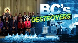 BC Destroyers: AG and Finance picks bad news for police and private sector