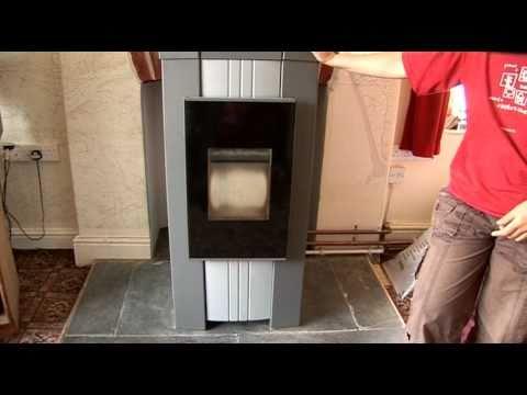 Biomass Heating with a Pellet Boiler.