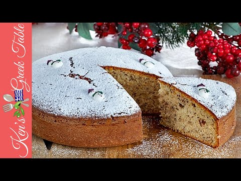 How To Make Vasilopita - Greek New Year's Cake | Ken Panagopoulos