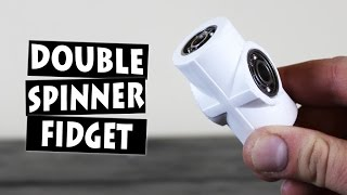 Download DIY Hand Spinner Fidget Toy with 4 Bearings Video