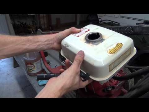 REMOVE RUST FROM YOUR GAS TANK THE CHEAP & EASY WAY