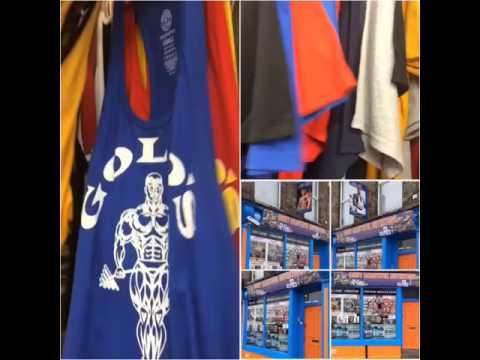 Golds Gym stringer vests, Worlds Gym stringer vests & Golds Gym t-shirts & Worlds Gym t-shirts UK
