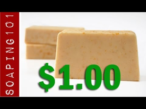 Make Dollar Store Soap  {easiest beginner soap recipe}   S2W36