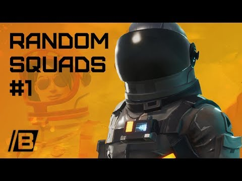 FORTNITE: Random Squads #1 with a girl! Tilted towers 15 kills loss