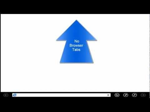 Windows 8 Internet Explorer 10 Start Screen App and Switch List Episode 3