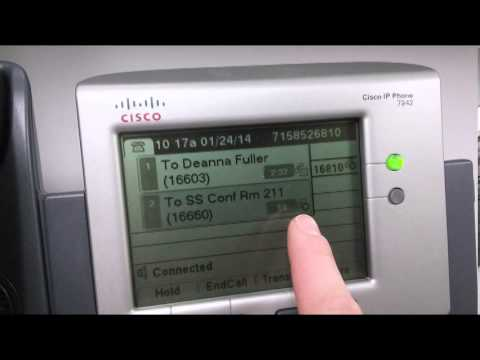 conference call on Cisco 7942