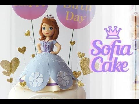 ::sugarcraft::disney princess sofia cake 프린세스 소피아 케이크 プリンセスソフィア