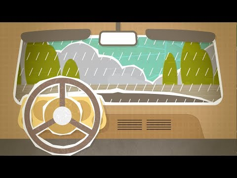 Rain on Car Baby Sleep Sound | White Noise to Calm Colicky, Crying Infant | 10 Hours