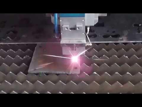 6mm carbon steel, mild steel 500w fiber laser cutting machine