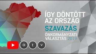 Önkormányzati választások 2019 - Így döntött az ország | ÉLŐ (2. rész)