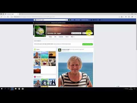 Facebook: eigen profielpagina weergeven als ander