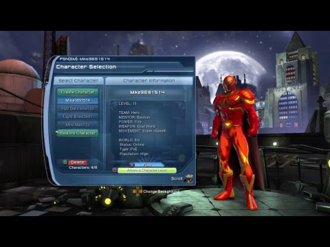 How to invite your friends on DC Universe Online