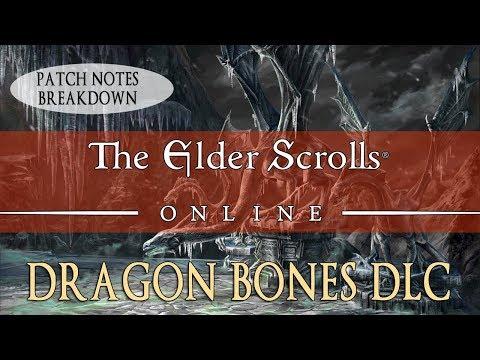 Elder Scrolls Online: Dragon Bones DLC Breakdown
