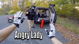 Saved Angry Lady From Trunk Of Stolen Car