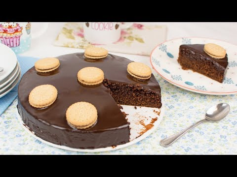 Prince Chocolate Biscuits Cake - Super Easy Chocolate Biscuit Cake Recipe