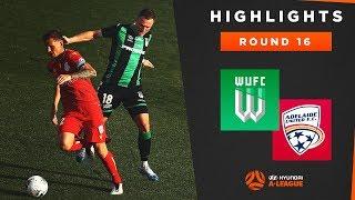 Highlights: Western United v Adelaide United – Round 16 Hyundai A-League 2019/20 Season