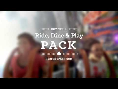 Ride, Dine & Play Pack at Hersheypark