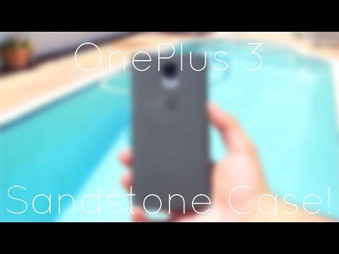 Quick Look: OnePlus 3 Sandstone Case!