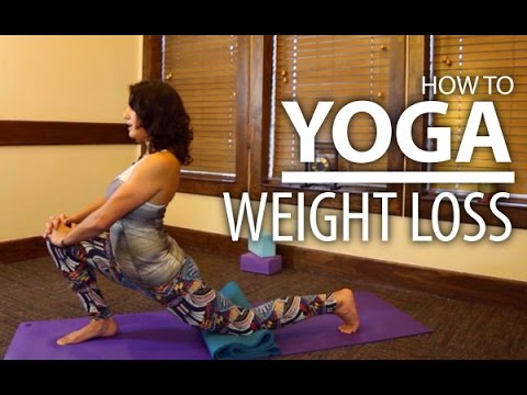 Beginners Yoga For Weight Loss - Focus on Butt & Thighs Yoga Flow!