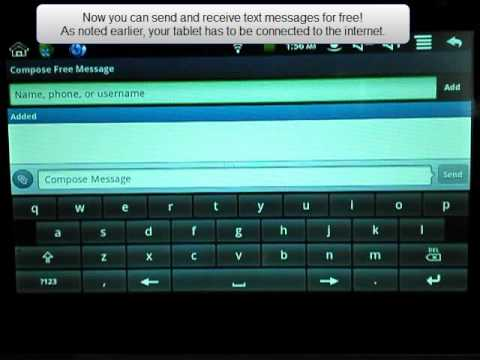 Free Text Messages On Your Android Tablet