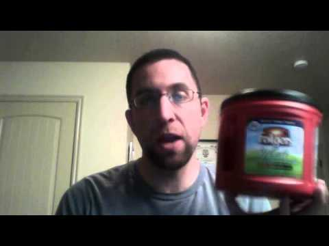 **Folgers half caff coffee** REVIEW.