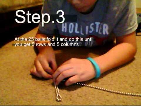 How to make buckyballs cube. 5x5 cube or 125 buckyballs