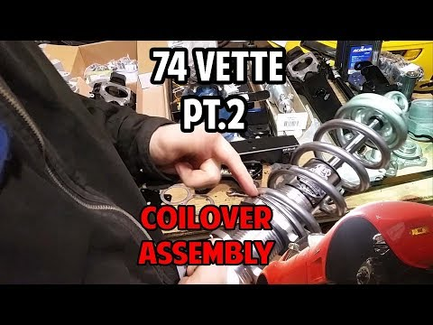 Project 74 Vette: Viking Coil-over Assembly and Parts