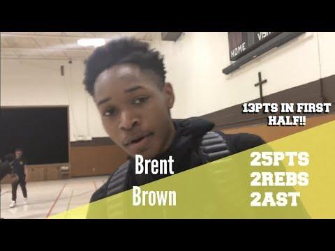 Brent Brown (25 pts) Leads Saint Rose Past Saint Norbert!!