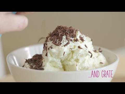 How to | grate chocolate with a potato peeler | GoodtoKnow