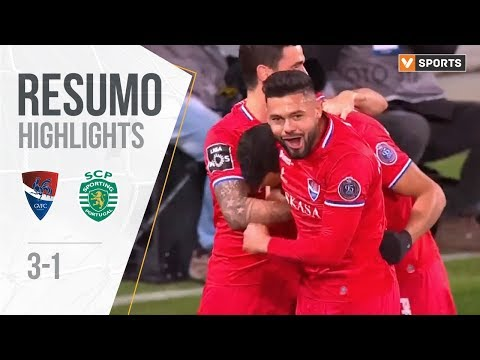 Highlights Resumo Gil Vicente 3 1 Sporting Liga 1920 12