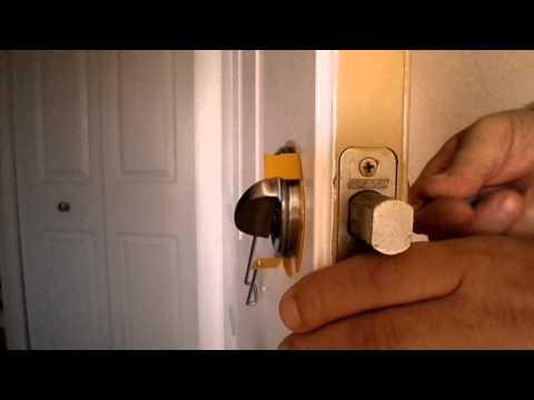 How to pick a grade 1 security Schlage door lock