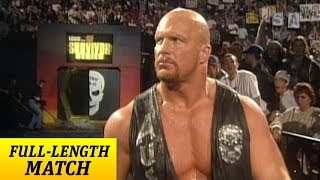 """Stone Cold"" Steve Austin returns from injury - Survivor Series 1997"